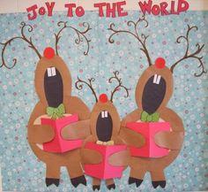 Πάω Α' και μ'αρέσει: Ιδέες για χριστουγεννιάτικο στολισμό της τάξης ή της γιορτής.