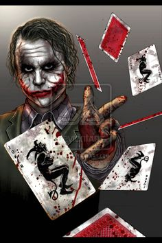 The Joker Batman: The Dark Knight Joker Heath, Le Joker Batman, Joker Y Harley Quinn, Der Joker, Joker Art, Comic Book Characters, Comic Books Art, Comic Art, Joker Kunst