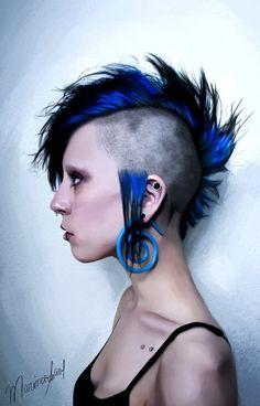 Punk Girl by marinamaral on DeviantArt