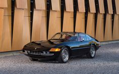 """Mote commonly known as the """"Daytona,"""" the official name was a reference to each cylinder's unitary displacement of 365cc, and the hardtop (Berlinetta in Italian) version had GTB (Grand Turismo Berlinetta) suffixed with the number """"4"""" referencing the number of cam shafts – two per cylinder bank."""