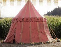 pretty vintage circus tent