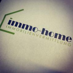 """Logodesgin """"immo-home GmbH"""" Kunde: immo-home GmbH Design & Konzept: Augenblick - Werbegrafik Design  Nehmen Sie sich einen Augenblick Zeit und werfen Sie einen Blick auf unsere Referenzen www.augenblick.co.at - es lohnt sich!!!"""