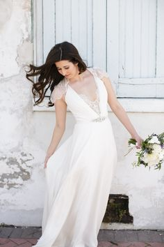 wedding dress; photo: Greer G Photography