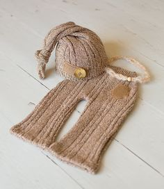 Newborn Hat & Pants Upcycled Set Natural Tans by rowanstreehouse https://www.etsy.com/shop/rowanstreehouse