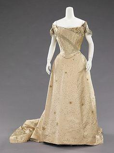 Evening Dress, Jean-Philippe Worth, 1905, The Metropolitan Museum of Art