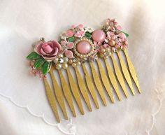 Pretty In Pink Accessories Vintage Jewelry by Blingnets
