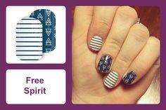 Jamberry Nails | Free Spirit
