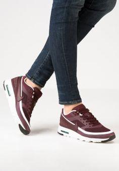 Nike Sportswear - AIR MAX BW ULTRA - Trainers - night maroon/summit white