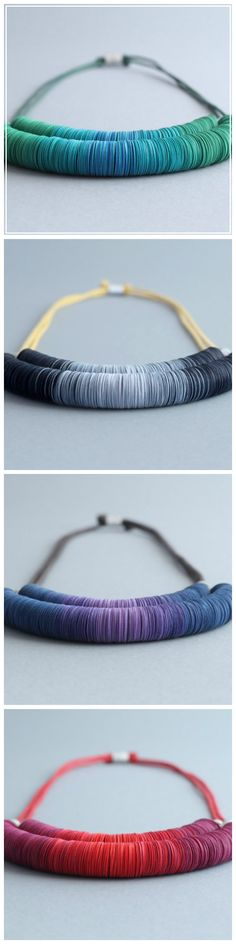 Paper Double Necklace by ABEL on CROWDYHOUSE