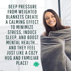 We absolutely love weighted blankets! Did you know that sleeping under a weighted blanket can… – combustive-argument Weighted Blanket For Adults, Natural Anxiety Relief, Increase Serotonin, Benefits Of Sleep, Destress, Pressure Points, Living A Healthy Life, Good Sleep, Reduce Stress