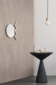 Objects (Mirror & Desk Organizer) by the Danish designer Kristina Krogh – www.kkrogh.dk