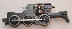 Hornby Dublo motor armature fitted