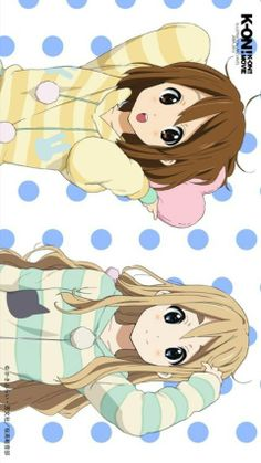 30 DAY K-ON! CHALLENGE. :D Day one: Favorite character? I love every character, but these two girls have very special places in my heart.  I feel like I relate to Tsumugi alot, and from the very first episode she just had something really charming about her.  I wanted to be just like her. ^_^ Then there's Yui. I adore her craziness and cuteness and the fact that she's not afraid to be herself. That's something I struggle with a lot, so Yui is a role model for me in some ways. I love Yui…