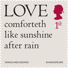 51 Inspirational Shakespeare Quotes with Images Royal Mail Stamps, Uk Stamps, Postage Stamps, Shakespeare Love Quotes, William Shakespeare, Lost Love Quotes, Sweet Love Words, Stamp Collecting, Morning Quotes