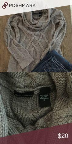 75e5efefe984 👚Victoria's Secret Moda Sweater Great condition size medium. mocha color.  Loose cowl neckline