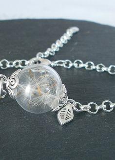 Charmed, Bracelets, Silver, Handmade, Jewelry, Glass Beads, Bangle Bracelet, Chain, Armband