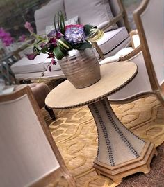 PARISIAN END TABLE