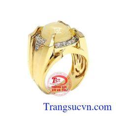 Nhẫn nam Sapphire - Nhẫn Nam Đẹp - TRANG SỨC VÀNG - Công Ty Trang Sức Em Và Tôi -Trangsucvn.com