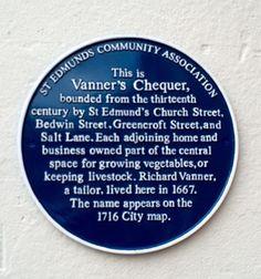 Vanner's Chequer, Salisbury