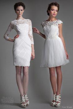 tony ward bridal 2013 short wedding dresses