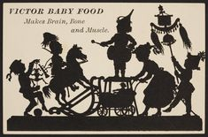 Trade card for Victor Baby Food, location unknown, undated |              Ephemera collection              (EP001) --         Historic New England