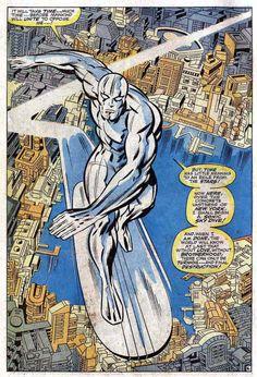 Classic splash page by Jack Kirby and Joe Sinnott from Fantastic Four #72 (March 1968) tumblr_ntt2m2frXt1rhjbado1_540.jpg (540×793)