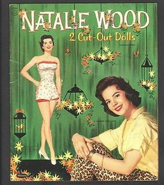 NATALIE WOOD PAPER DOLLS 1958 UNCUT ORIGINAL BOOK