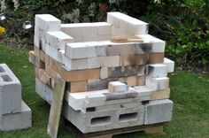 Earth Work: A temporary kiln fired with gas and wood