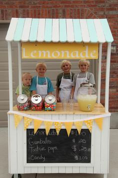 how to build a lemonade stand on wheels