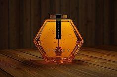 Verpackung: Wabenförmige Honiggläser | KlonBlog