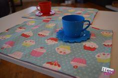 Kinderküche, Puppenküche, Spielen, Tischset, nähen