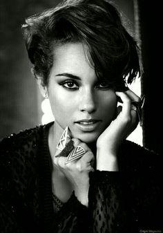 Alicia Keys..
