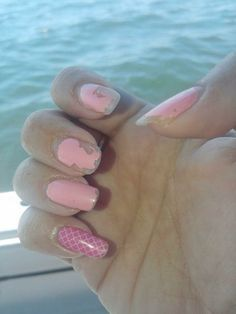 Here is an accent wrap with store bought polish ten days later with 3 full days in salt water scalloping! Jamberry looks perfect, polish not so much!!  https://jennsjamtasticnails.jamberry.com/shop