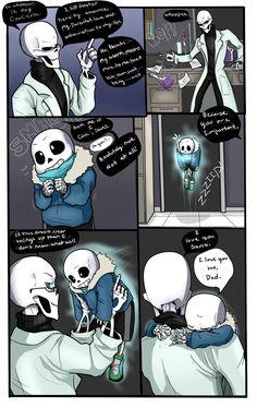Bad days 3- Skelefam Undertale. by TheBombDiggity666