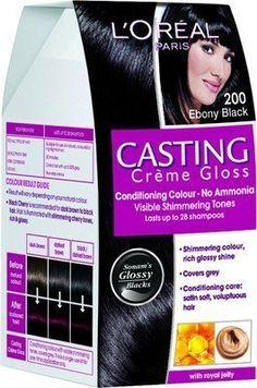 L\'Oreal Paris Casting Creme Gloss Hair Color 500 Medium Brown ...
