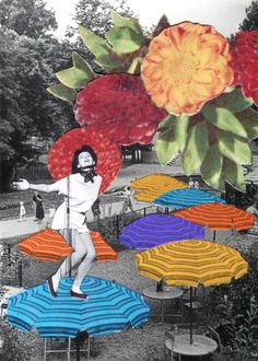 Badass! Another influence for personality psyche collage! Collages by Emma Dajska