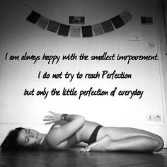 """I am always happy with the smallest improvement. I do not try to reach Perfection but only the little perfection of every day"" Iyengar 1959 ~ Sparks of Divinity ❤️ #embracethemoment #embracelife #dailyperfection #youarealreadyperfect #iyengar #sparksofdivinity #beyogi #laiayoga #yoga #yogaquote"