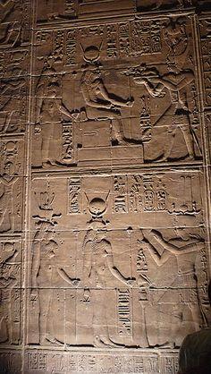 ASWAN, EGYPT - Temple of Isis on Philae I. - mural/ АСУАН, ЕГИПЕТ - храм богини Исиды на острове Филы by Miami Love 1, via Flickr