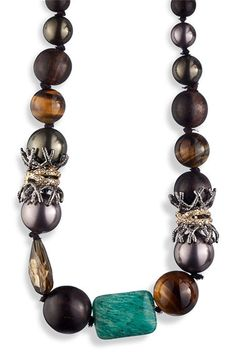 Alexis Bittar 'Elements' Pavé Accent Crown Station Necklace | Nordstrom - StyleSays