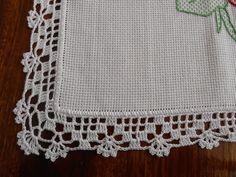 Photo from album Crochet Lace Edging, Crochet Fabric, Crochet Borders, Crochet Tablecloth, Cotton Crochet, Thread Crochet, Filet Crochet, Crochet Doilies, Crochet Flowers
