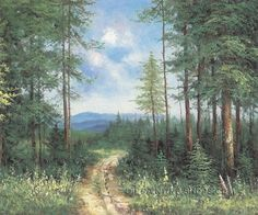 """Enchant Scenery Oil Painting Reproductions American Landscape Painting Mountain, Size: 24"""" x 20"""", $83. Url: http://www.oilpaintingshops.com/enchant-scenery-oil-painting-reproductions-american-landscape-painting-mountain-2141.html"""