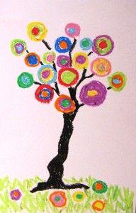 Kandinsky circle tree