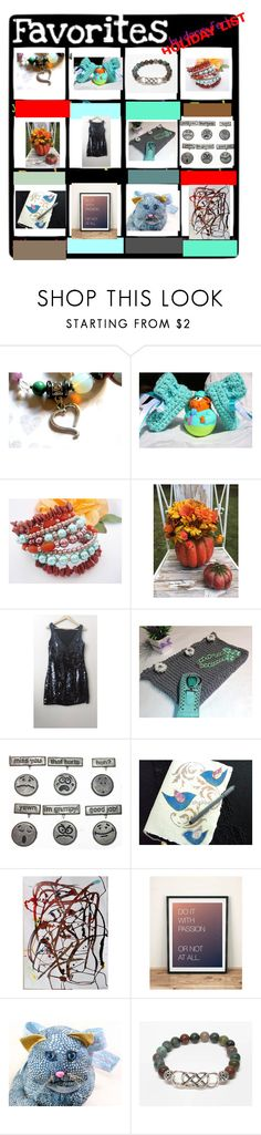 """""""A few of my """"favorite"""" things..people...shops!"""" by pippinpost ❤ liked on Polyvore featuring Pocket Book, Marc, etsy, gifts, handmade and SpecialT"""