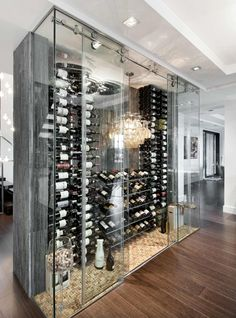 Now this is a wine fridge!