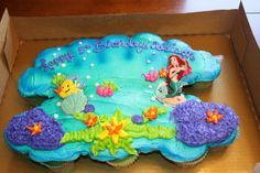 Disney The Little Mermaid... Ariel, birthday cake