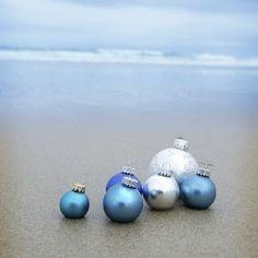 Navidad en el océano azul.