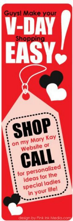 Valentines Day will be here before we know it! www.MaryKay.co.uk/etimbo