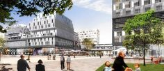Un ecoquartier place Macdonald - Paris 19e