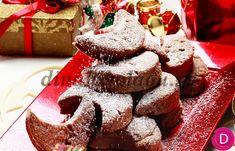 Greek Sweets, Greek Desserts, Greek Recipes, Xmas Food, Christmas Desserts, Christmas Cookies, Christmas Recipes, Grilled Peaches, Vanilla Ice Cream