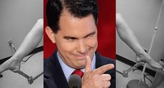 GOP presidential hopeful Scott Walker can't wait to start arresting doctors for performing abortions